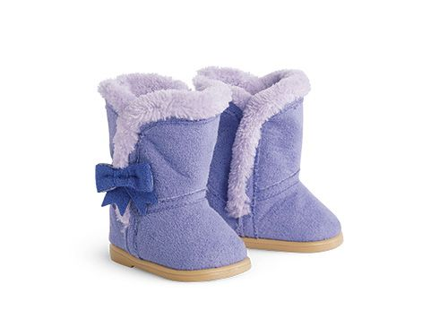 American Girl Shearling Boots