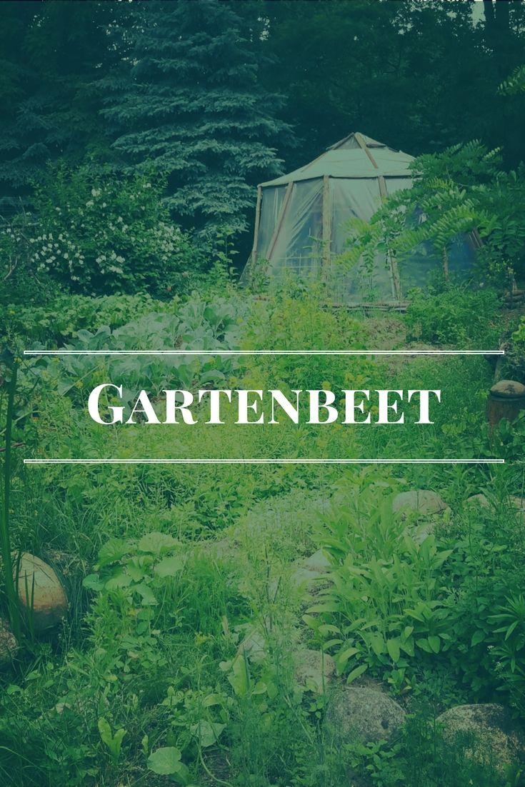 Gartenbeet, Hintergrund: Kuppel- Gewächshaus Biotopica Farm 2016