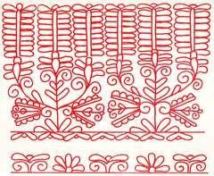 NÉPRAJZ, kalotaszegi írásos, Hungarian (kalotaszegi) embroidery, magyar hímzés