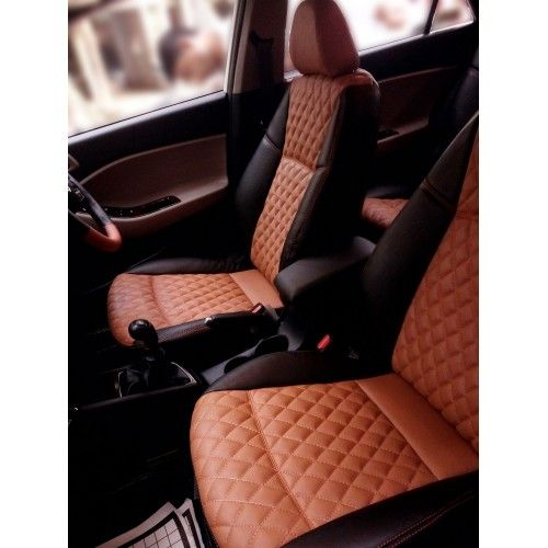 Car Leatherite Seat Covers Custom Fit For Hyundai I20 Elite