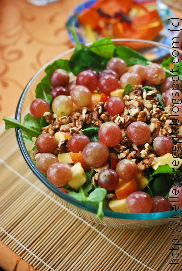 Mandy kertje és konyhája: Őszi saláta