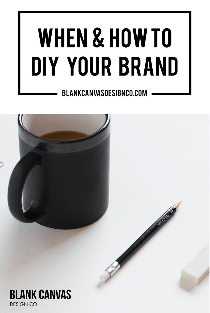 Small businesses are not always able to afford to develop their logo and brand professionally when they launch. Here we talk about when to DIY your own logo and some best practices to follow
