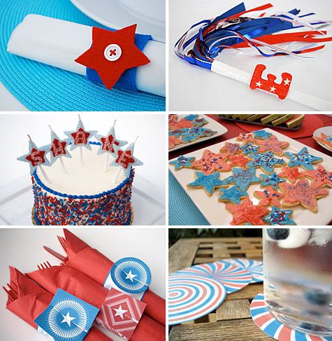 4th of july craft project