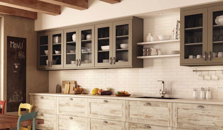 17 best windows images on pinterest casement windows for Armoire de cuisine rustique