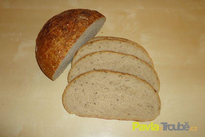 pšenično-žitný chleba