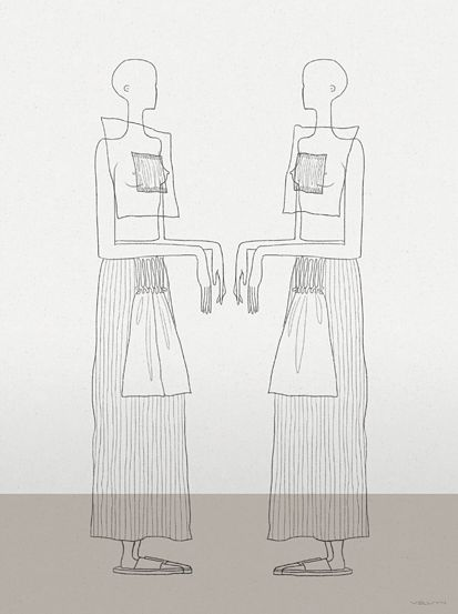 Line Drawing Human Body : Best fashion illustration artist velwyn yossy images