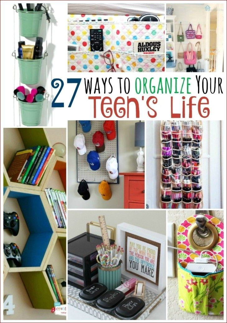 Bedroom Organization For Teens Girls In 2020 With Images Girls Room Organization Girls Bedroom Organization Bedroom Organization Diy