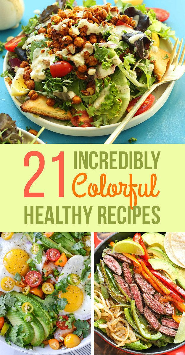 21 Insanely Colorful Meals That Are Healthy AF