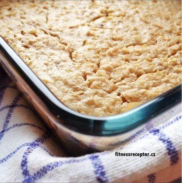 Zapékaná ovesná kaše s kokosovým mlékem | Fitnessreceptář.cz - vybrané zdravé fitness recepty, články a více