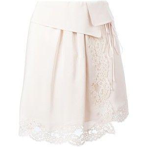Chloé Lace Detail Skirt