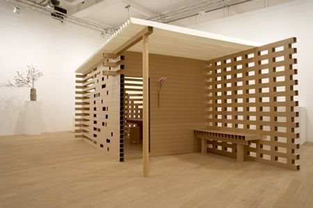 PAPER TEA HOUSE BY INTERNATIONALLY ACCLAIMED ARCHITECT, SHIGERU BAN TO BE SOLD AT PHILLIPS DE PURY & COMPANY'S KYOBAI: THE ART AND CULTURE OF JAPAN SALE ON APRIL 3