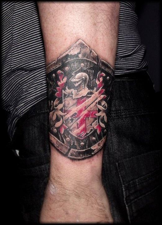 Tom Ruki at Tenacious Tattoo in Sheffield, UK