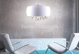 Lampa wisząca MOONLIGHT WHITE duża (P023706L) - Max light