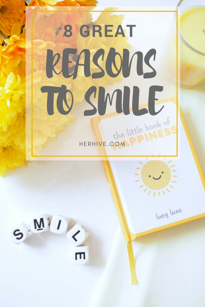 Eight Reasons to Smile More