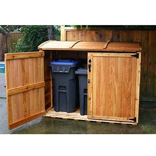 Outdoor Living Today X Cedar Oscar Waste Management Shed At Lowe S Canada Find Our Selection Of Storage Sheds The Lowest Price Guaranteed With
