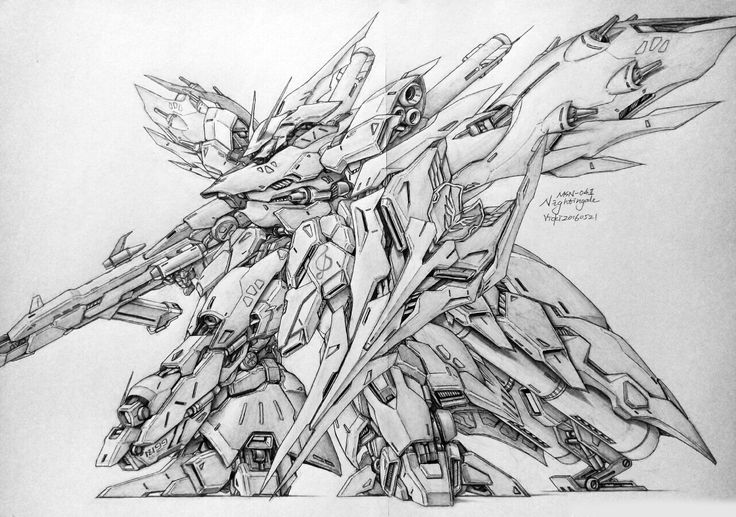 GUNDAM GUY: Awesome Gundam Sketches by VickiDrawing [Updated 6/1/16]