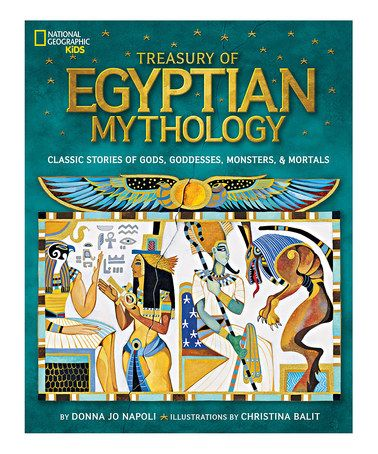 This Treasury of Egyptian Mythology Hardcover is perfect! #zulilyfinds