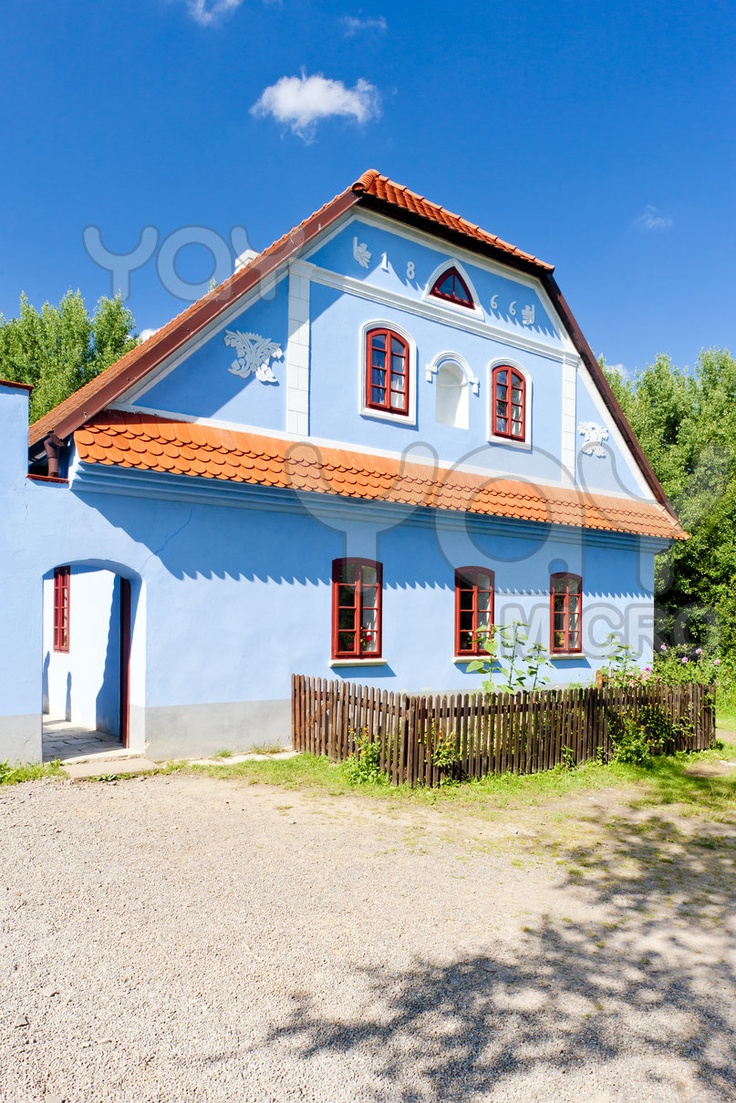 Scanzen in Vesely Kopec, Czech Republic