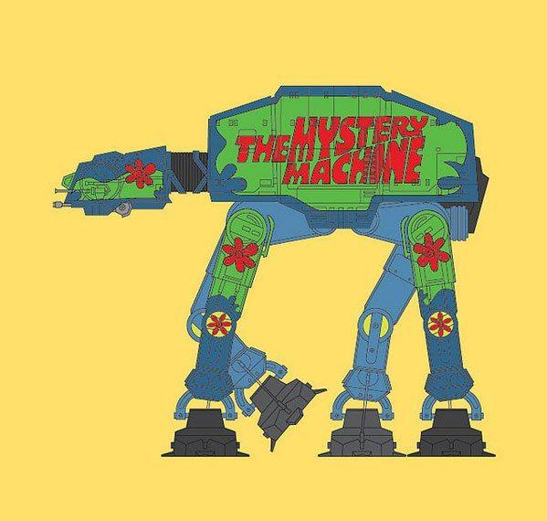 AT-AT Scooby-Doo Mash-Up