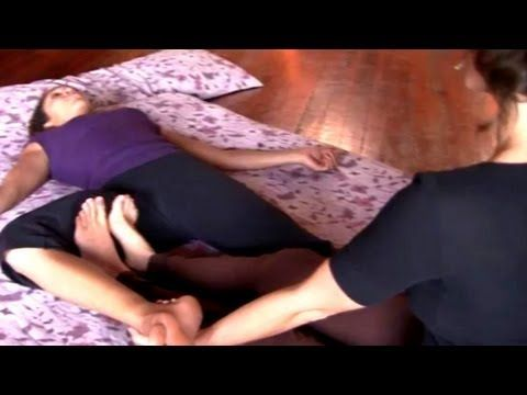 Thai Massage Demo, How To Give Relaxing Yoga Therapy by Jen Hilman