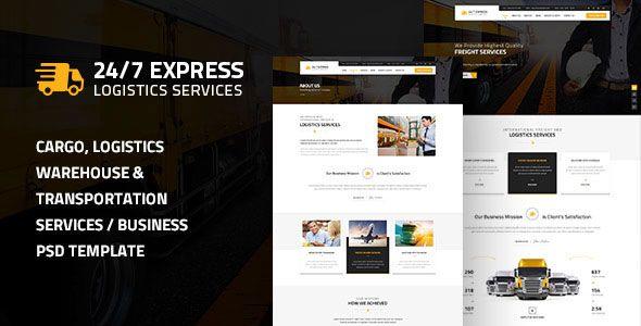 24/7 Express Logistics Services HTML » THEMELOCK.COM - FREE PREMIUM THEMES & TEMPLATES