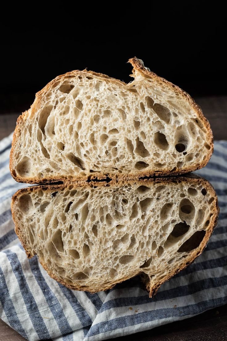 the perfect loaf country sourdough with liquid levain