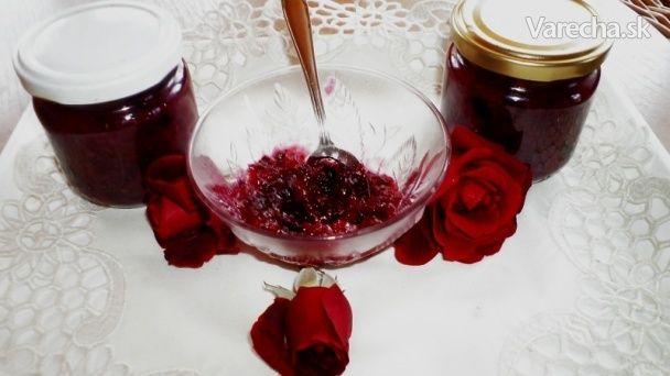 Džem z ružových lupeňov s levanduľou (fotorecept) - Recept