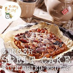 We are all about reducing sugar for a fit and fabulous sedentary life. Here is a great way to have your cake and eat it too. Say hello to Annemarie's Ginger spelt cake with dried fruits. Amazingly delicious and sweet ánd... sugar-free. Too good for words!