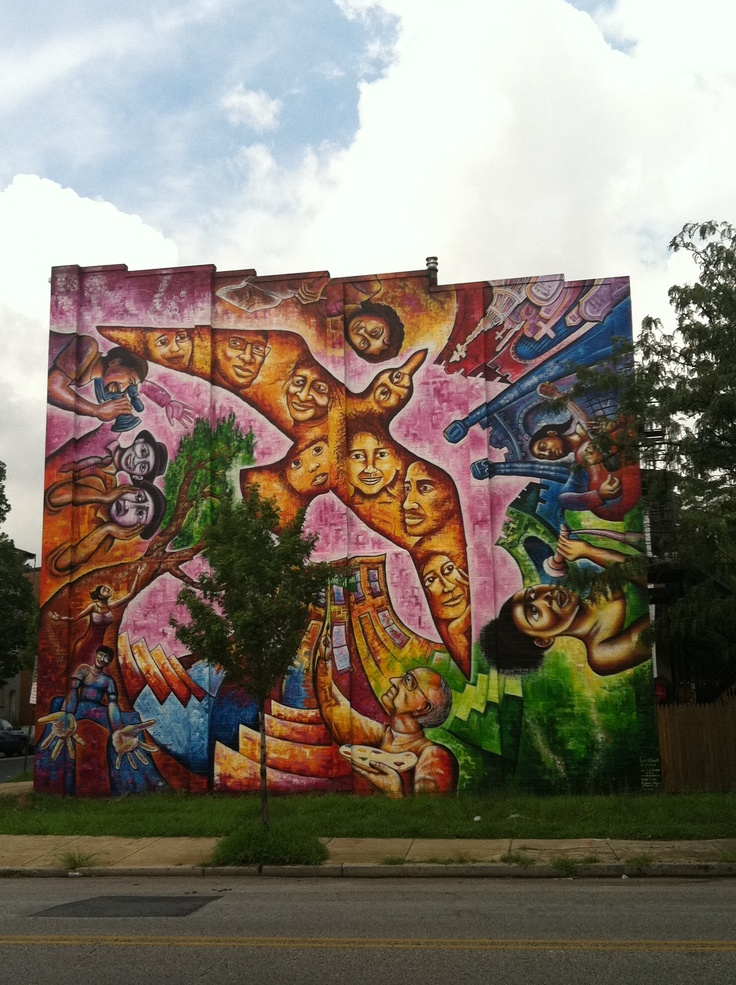 1000 images about united states street art on pinterest for Baltimore mural program