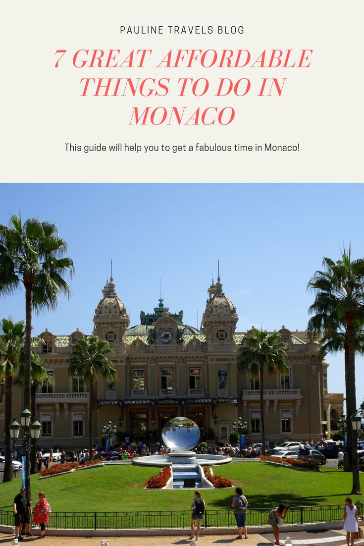 Monaco is the second smallest country in the world after the Vatican. Monaco is the playground for the rich and famous in the Mediterranean and the glamorous getaway if you like champagne, cars, and casino.  There are other great things to do in Monaco that will not break your wallet as well. In this post, I will give you the budget friendly option as well some high-end options on spending time and money in Monaco.