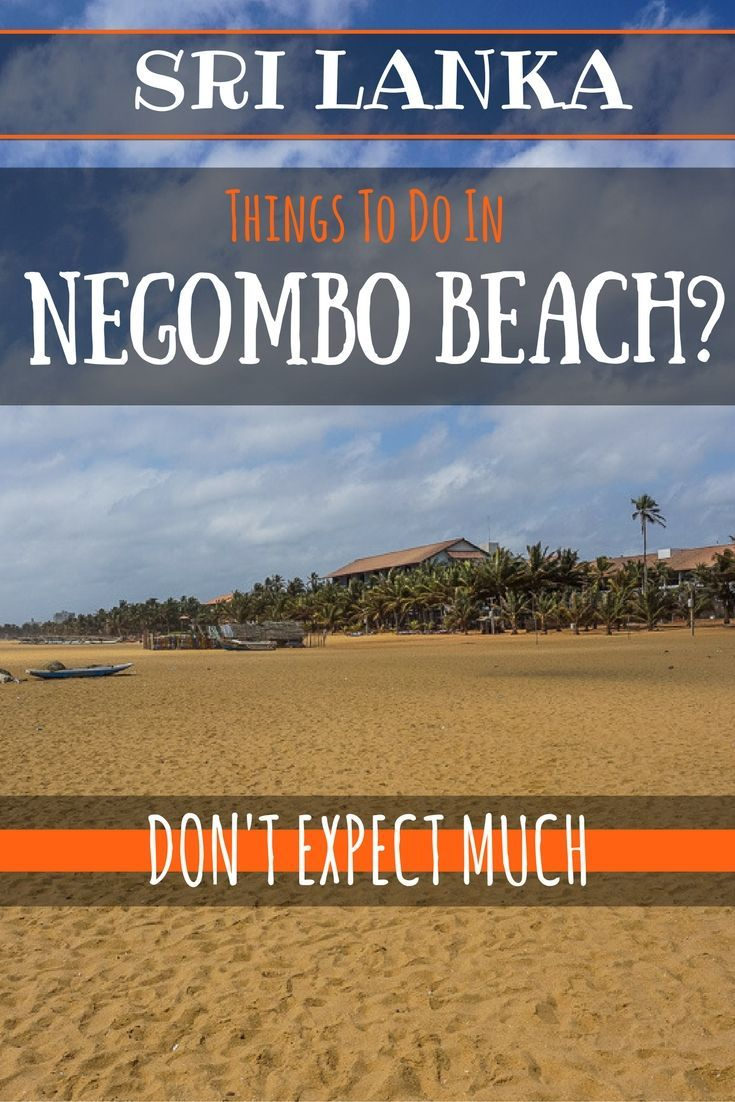 Things to do in Negombo Beach Donu0027t