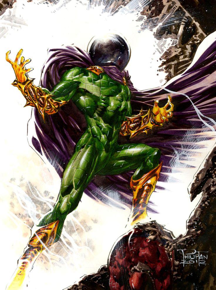 Mysterio - Philip Tan | Sinister Six | Comic book villains ...