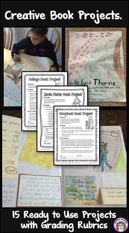 book report ideas for 8th grade pdf
