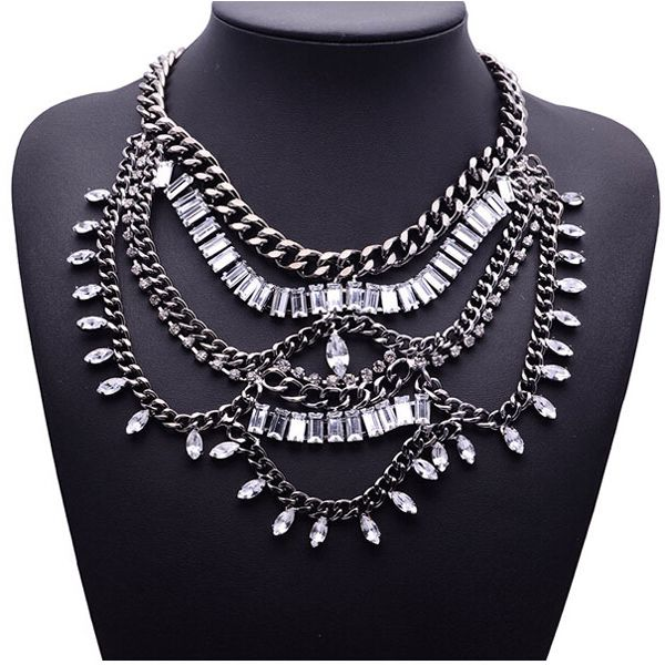 Devon Silver Necklace