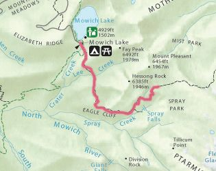Spray Park Trail at Mt. Rainier (~6 miles, amazing wildflower meadows)