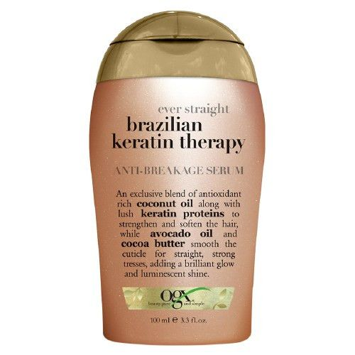 OGX Anti-Breakage Serum with Ever Straight Brazilian Keratin Therapy