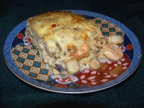 Creamy Scallop Lasagna | Recipe