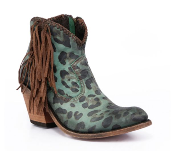 LIBERTY BLACK WOMEN'S CHITA TURQUEZA BOOTIES