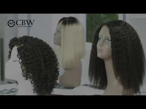 China Best Wigs hair washing test