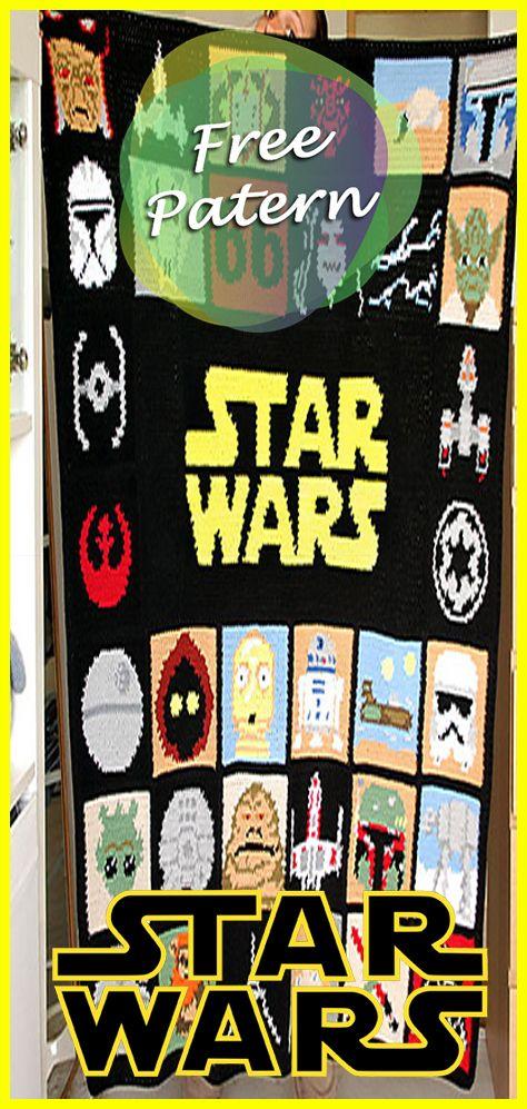 Star Wars Blanket Crochet Free Pattern A Galaxy Far Far Away