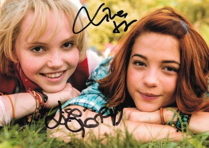 Original Autogrammkarte Limitiert Auf 200 Stuck Bibi Tina Echte Bibi Und Tina Film Bibi Und Tina Madchen Gegen Jungs
