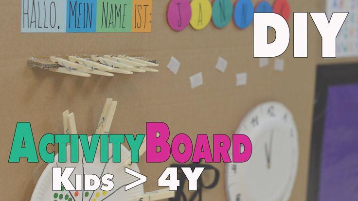 diy activity board ideen f r kinder ab 4 5 jahren mamiblock der ma quiet books. Black Bedroom Furniture Sets. Home Design Ideas