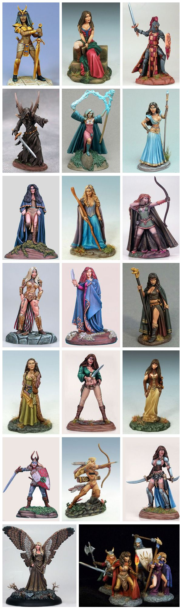 Dark Sword Miniatures GRRM Masterworks Major Line Expansion by Dark Sword Miniatures — Kickstarter