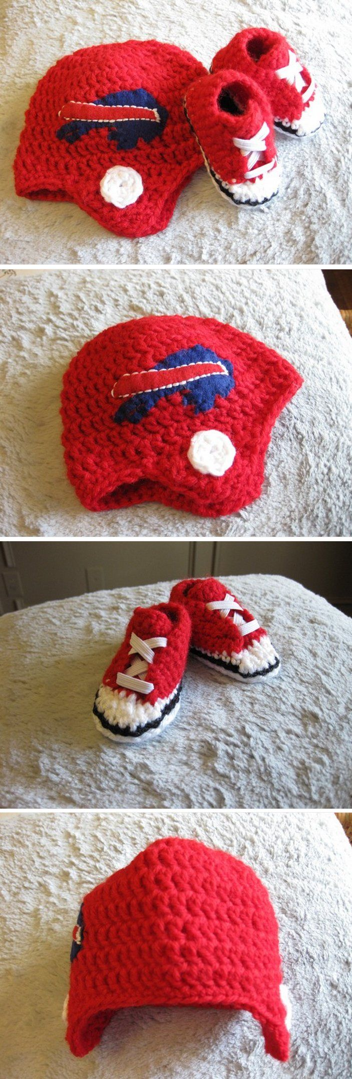 1000 Images About Crochet Buffalo Bills And Football On