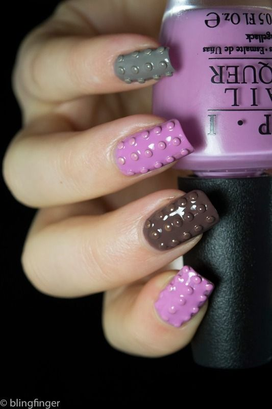 Coming up with Stylish Funky Nail Designs