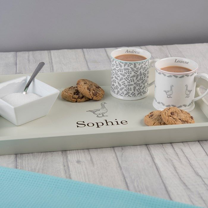 Customized Breakfast In Bed Trays