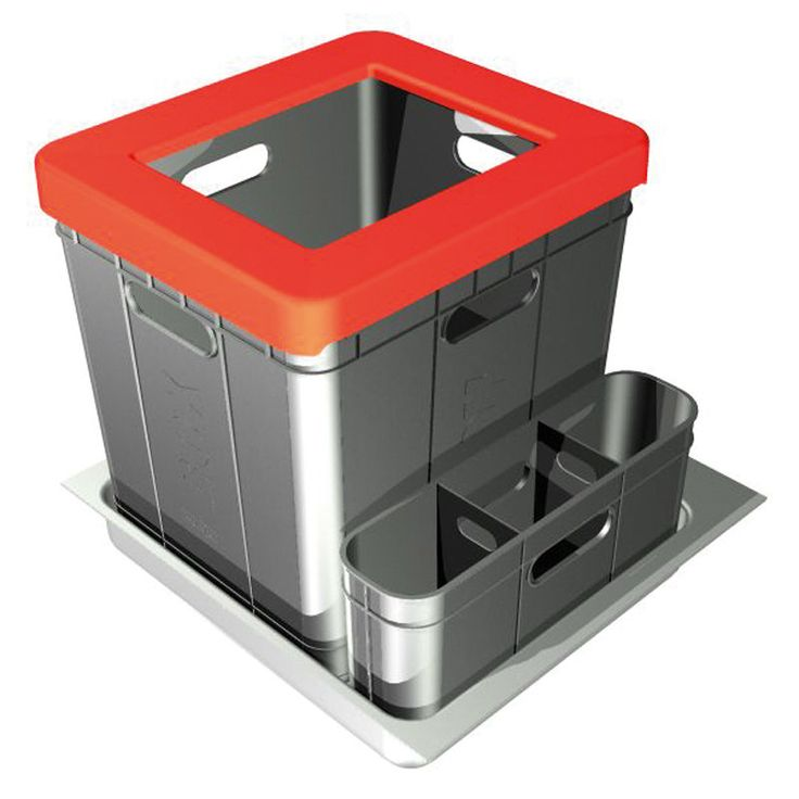 Franke Soft-close Kitchen Waste Sorter 350-50-Mybathroom.co.uk