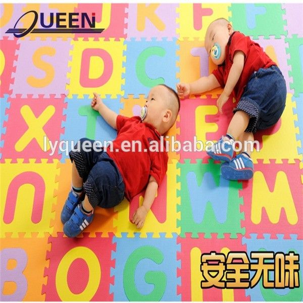 ABC Letters mat baby crawling mat EVA game pad children Puzzles baby mats