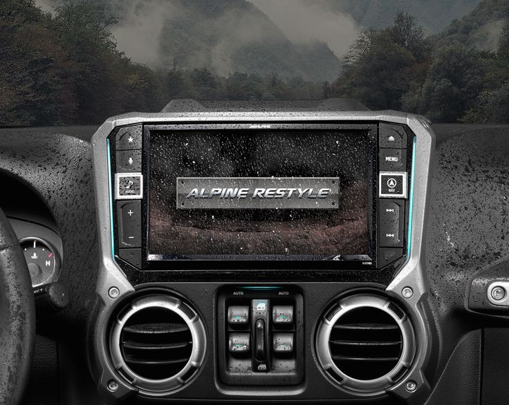 Do you take your Jeep Wrangler off the beaten path? Alpine's X209-WRA weather resistant 9-inch Restyle In-Dash System can keep up with the fun, even when dirt, light rain, and dust catch you off guard. The X209-WRA is loaded with features including DVD/CD player, HD Radio, bluetooth hands-free calling & audio streaming, Apple CarPlay & Android Auto technology, built-in navigation, built-in amplifier, 9-band parametric EQ, SiriusXM satellite radio compatibility, backup camera readiness, and…