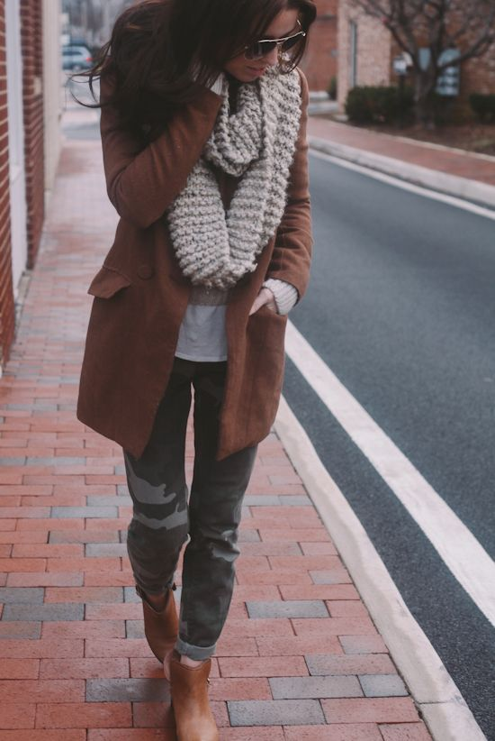 Shoes: Fossil, Pants: Zara, Sweater: F21, Coat: c/o YesStyle, Scarf: c/o Taylor House, Sunglasses: Target